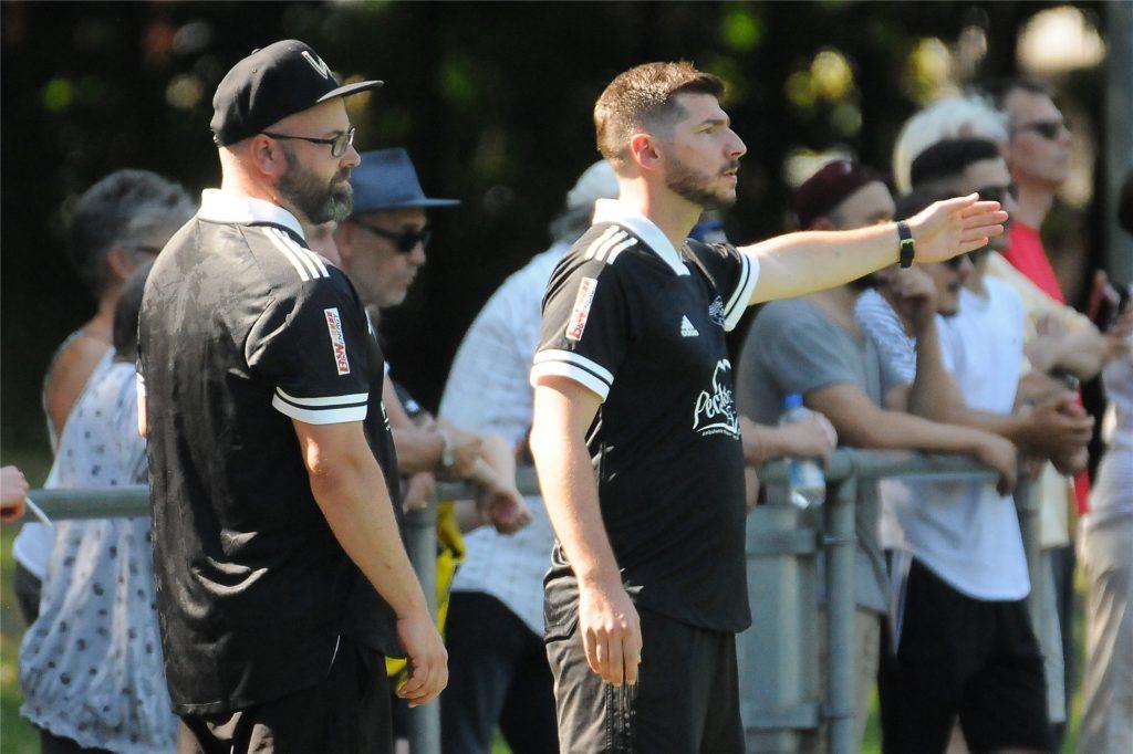 Aytac Uzunoglu, Trainer des SV Wacker Obercastrop.