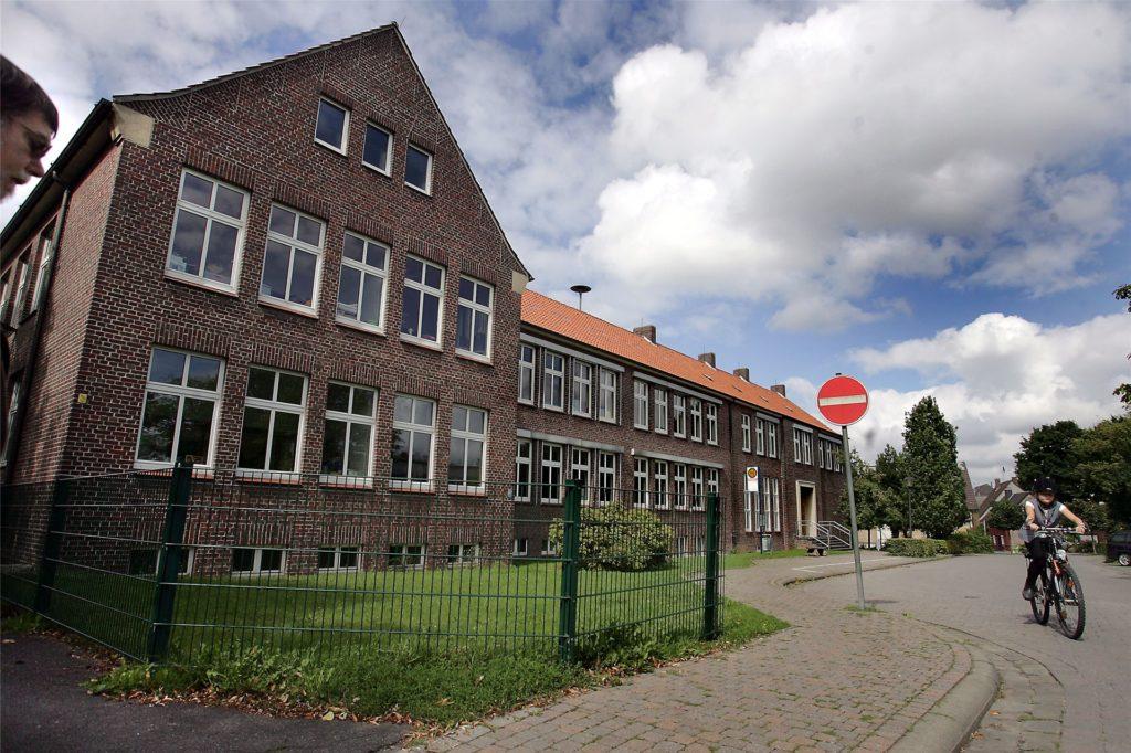 An der Marienschule gab es schon vor den Sommerferien ein Maskengebot.