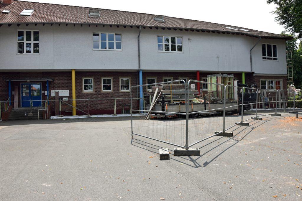 Die Einschlung findet an der Lambertusschule in Ascheberg auf dem Schulhof statt.