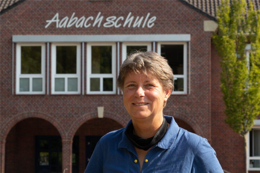 Oda Voerste, Leiterin der Aabachschule