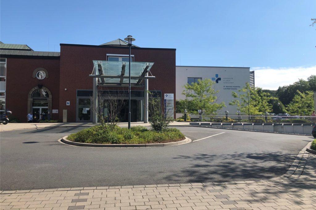 Aktuell gibt es sieben bestätigte Fälle im St.-Rochus-Hospital.