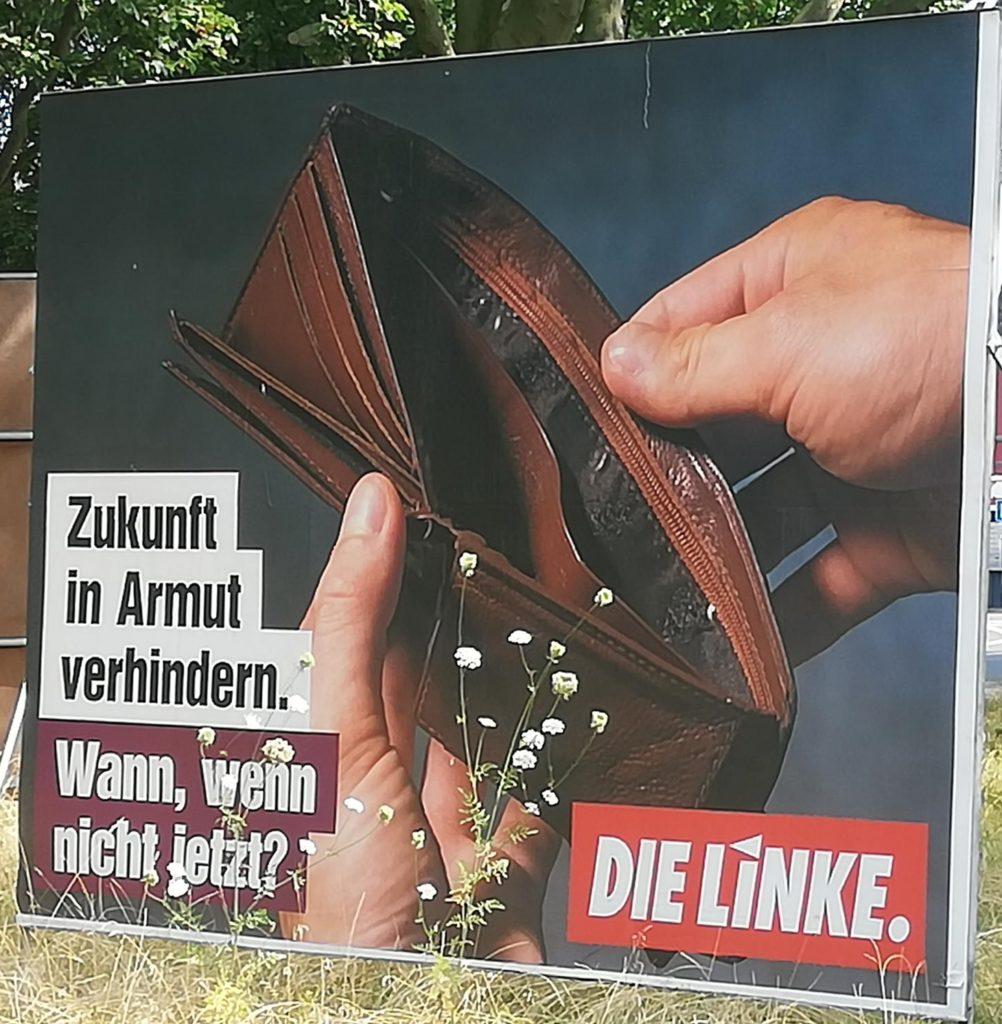 Die Linke setzt auf Provokation in der Werbung.