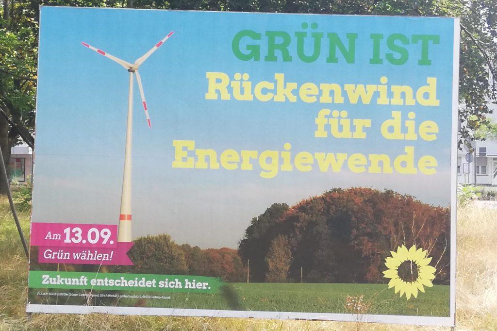 Grüne Dreifaltigkeit: Die Partei setzt auf lokalen Themenbezug,...