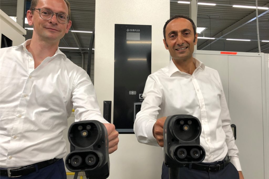 Checrallah Kachouh und Georg Griesemann von Compleo in Dortmund