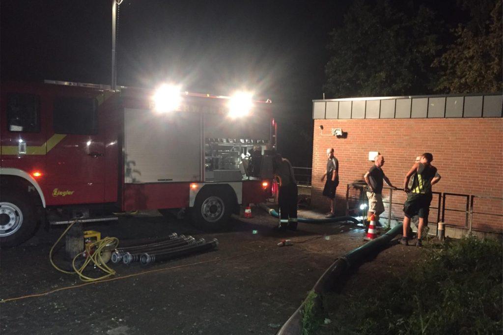 68 Einsätze musste die Feuerwehr am Donnerstagabend bewältigen.