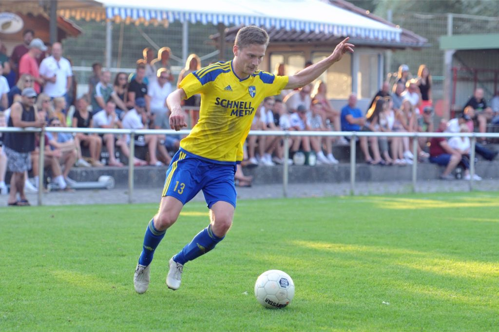 Stephan Hartmann will mit der SpVgg ins Pokalfinale.