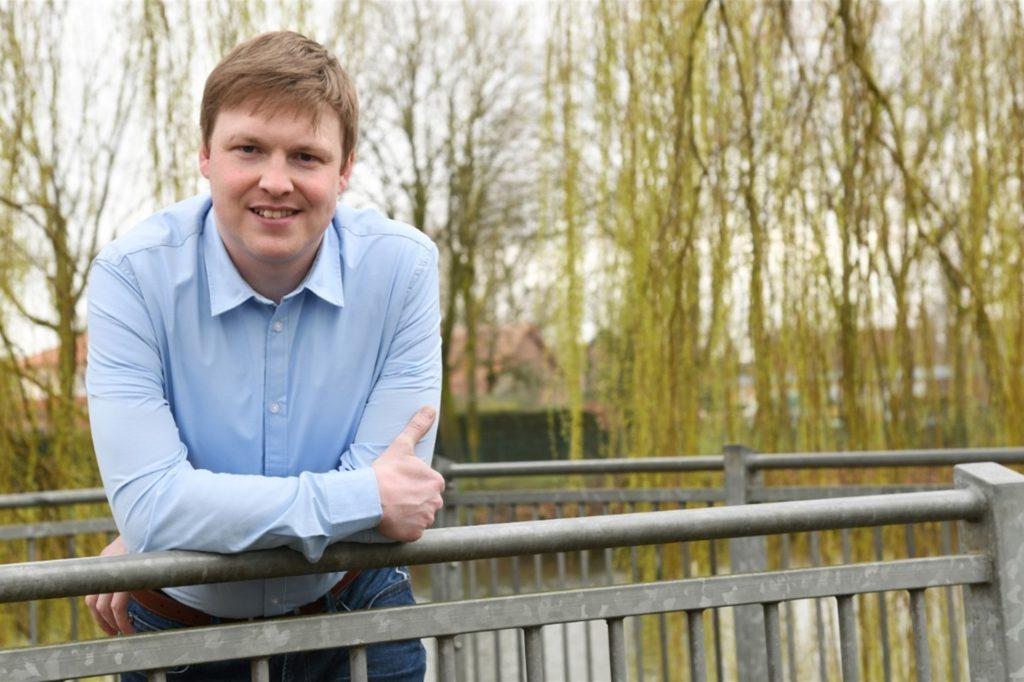 Markus Janning (CDU) ist bei der Bürgermeisterwahl der Herausforderer.
