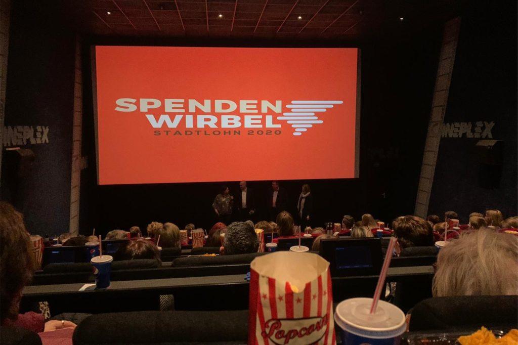 Der SpendenWirbel-Kinoabend war komplett ausgebucht und somit ein voller Erfolg.