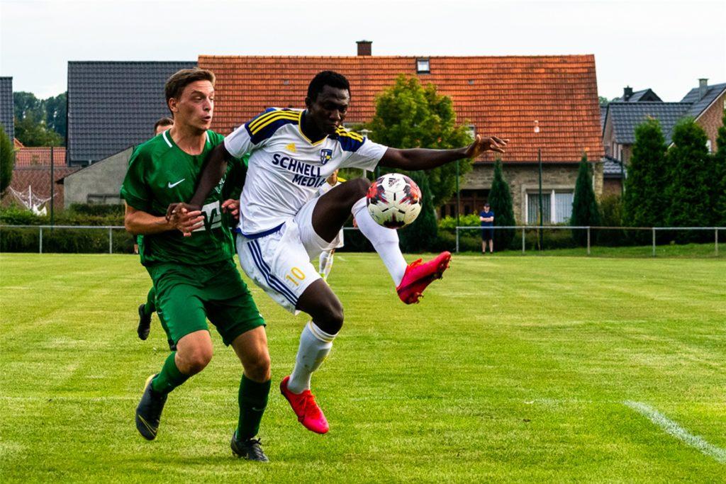 Zwei Treffer gingen auf das Konto von Ibrahim Kouyate.
