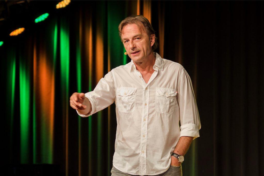 Fritz Eckenga ist einer der Stars beim Museumsnacht-Showprogramm im Westfalenpark.