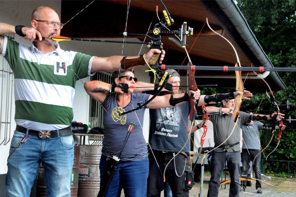 Das Bogensport-Angebot trug mit dazu bei, dass der Bürgerschützenverein Lichtendorf-Geisecke in diesem Jahr bereits fast 30 neue Mitglieder aufnehmen konnte - und damit die Austrittswelle fast kompensierte.