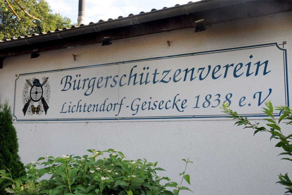 Seit 1838 gibt es den Bürgerschützenverein Lichtendorf-Geisecke. Ohne König war er noch nie.