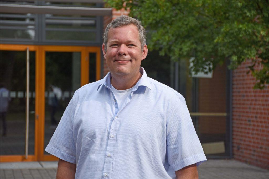 Seit August ist Julian Groß der neue Leiter der Maximilian-Kolbe-Schule in Nordkirchen.