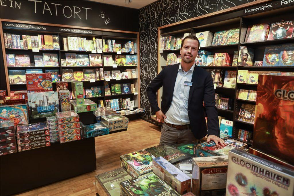 Christian Cornelius leitet die Mayersche Buchhandlung in Dortmund