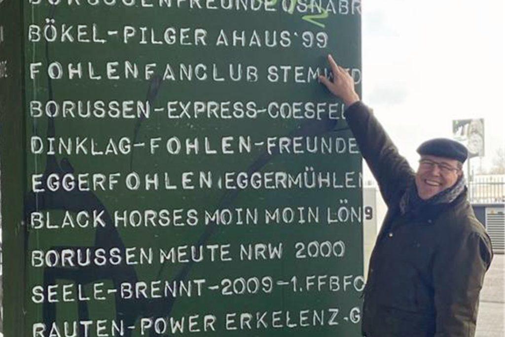 Audits führt Heiner Hollekamp auch heute noch für einige Proficlubs durch. Beim Besuch der Borussia aus Mönchengladbach trifft er auch auf die Heimat.