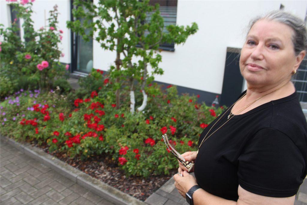 Dicht an dicht stehen die Blumen im Vorgarten von Jordanka Hahner.