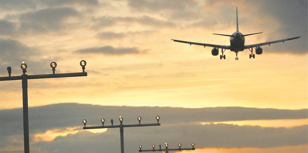Der Flughafen in Dortmund