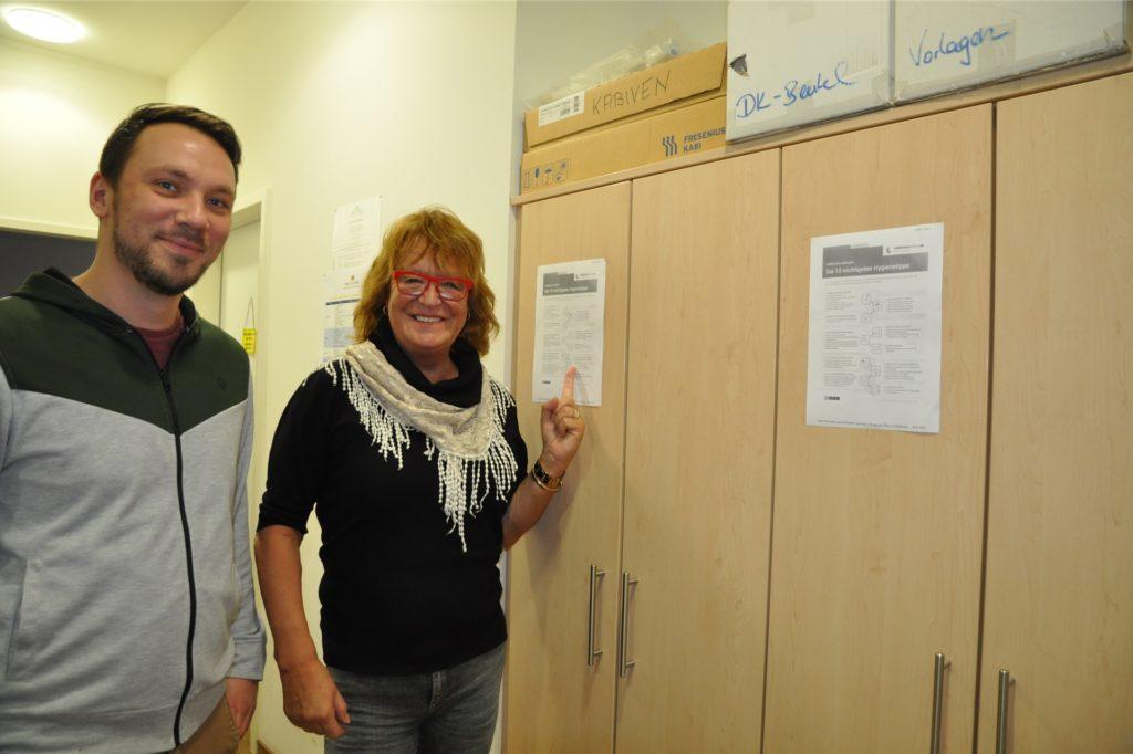 Denis Pestinger-Rückert und Birigit Rückert leiten gemeinsam den Pflegedienst Rückert. Und sorgen auch dafür, dass die Auszubildenden entsprechend angeleitet werden.