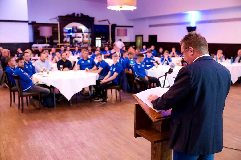 77 Mitglieder waren am Donnerstagabend zur Jahreshauptversammlung des VfB Kirchhellen ins Brauhaus gekommen.