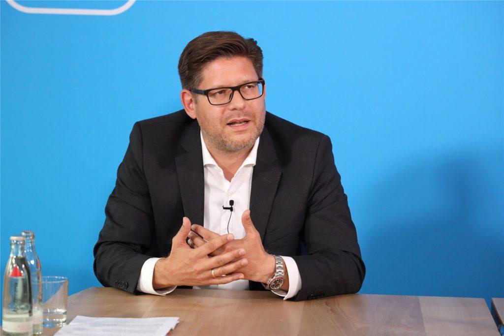 """CDU-Landratskandidat Marco Morten Pufke: """"Was verteilt wird, muss vorher erwirtschaftet werden."""""""