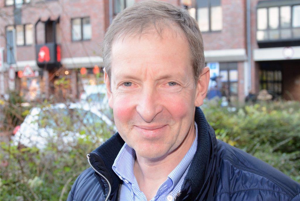 Prof. Ulrich Breilmann scheut auch vor unbequemen Fragen nicht zurück. Den Marktplatz als Parkplatz hält er für völlig verschwendetes Potenzial.