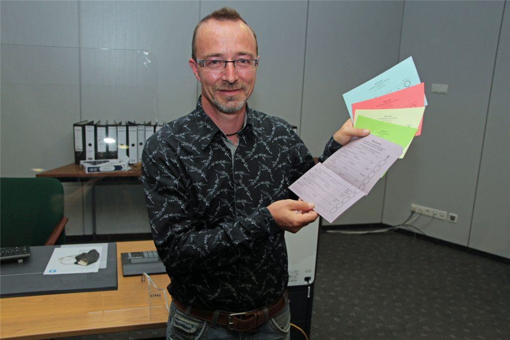 Sven Henning ist der Wahlleiter in Werne.
