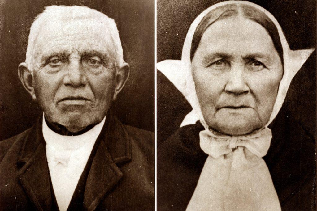Die Urgroßeltern von Georg Weitenberg lebten in Velen: Wilhelm Henricus Weitenberg (1828-1907) und seine Frau Elisabeth Anna geb. Eink (1828-1905).