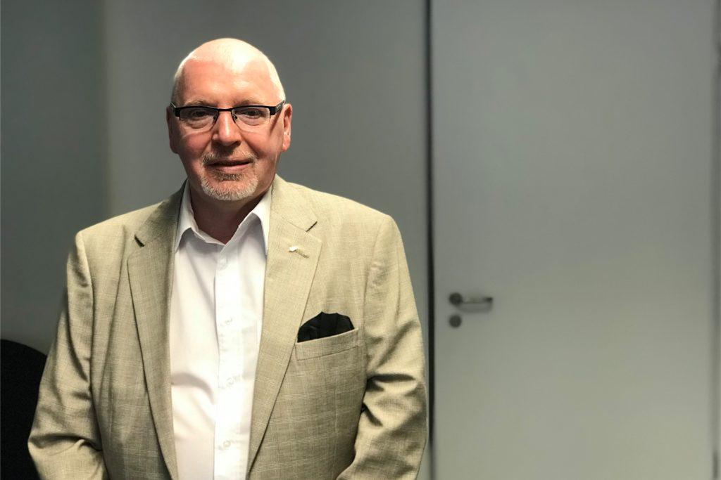 Bernd Schreyner kandidierte für Die Rechte als Dortmunder OB.