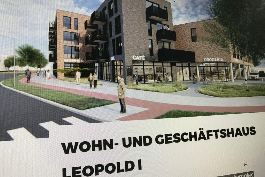 Im Internet finden sich bereits Visualisierungen des am Hervester Kreisverkehr an der Zechenstraße geplanten Wohn- und Geschäftshauses.
