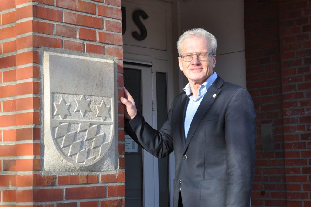 Friedhelm Kleweken war 21 Jahre Bürgermeister der Gemeinde Legden. Am 1. November übernimmt Dieter Berkemeier das Amt des Bürgermeisters.