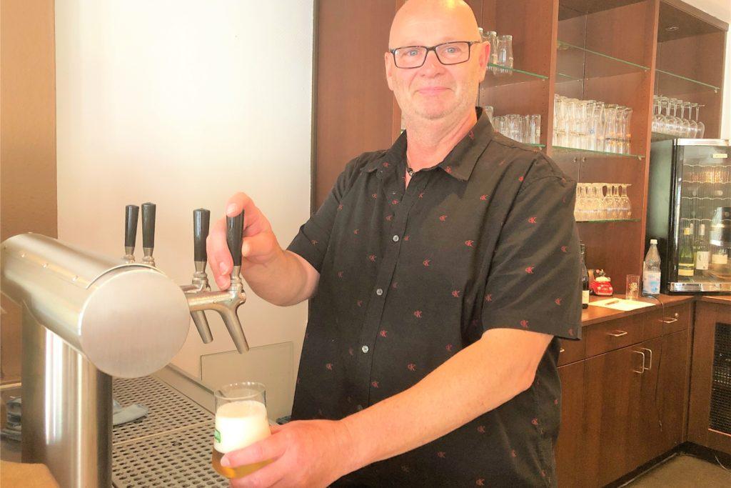 Torsten Potyka ist seit Juni Chef des Restaurants