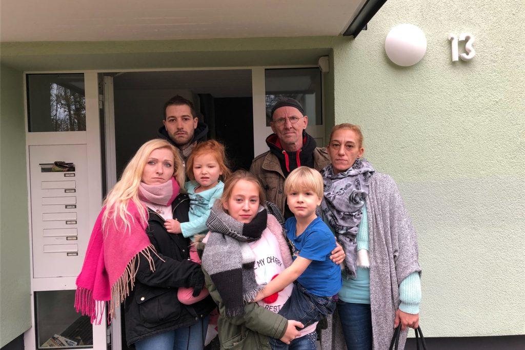 Vor zwei Jahren erlebten diese Mieter des Hauses am Himmelsberg 13 eine Wassersperre, weil ihre Vermieterin seinerzeit die Wasserrechnung trotz Mahnungen nicht bezahlt hatte. Die Geschichte wiederholt sich gerade