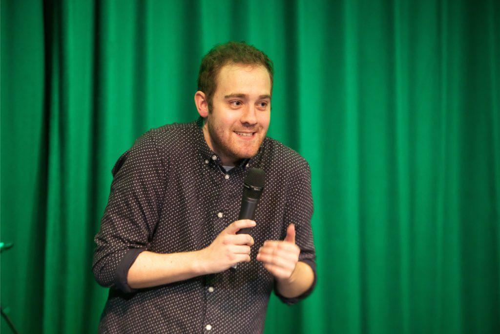 Comedian Freddy Allerdisse ist Stammgast auf der Bühne des Lea-Drüppel-Theaters.
