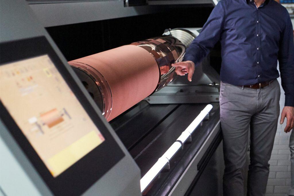 Die Maschinen mit der neuen Technik werden bei der Firma Schepers bereits gebaut.