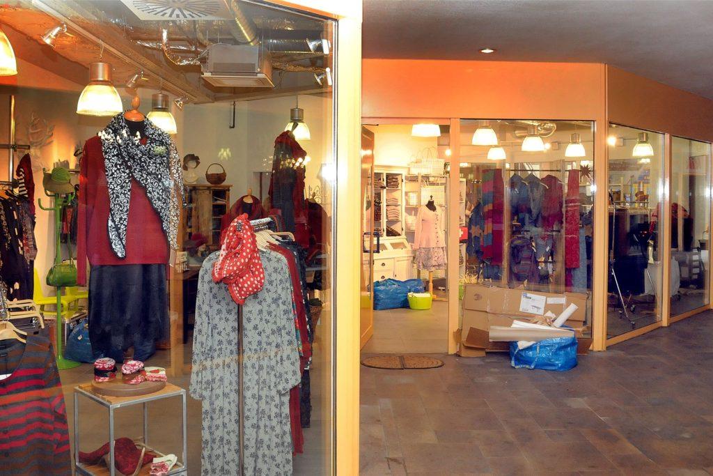 """Die 28 Meter lange Schaufensterfront des neuen Ladenlokals im City-Centrum ermöglicht, das Sortiment von """"La Petite Passion"""