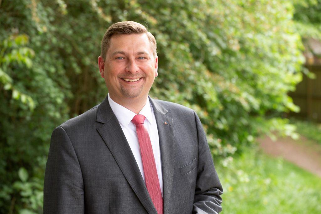 Daniel Wolski ist von der SPD für das Amt des ersten stellvertretenden Bürgermeisters nominiert worden.