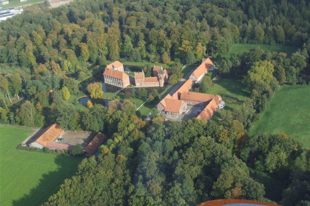 Luftaufnahmen von Klemens Richters von der Egelborg im Oktober 2020.
