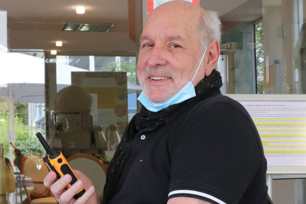 Geschäftsführer der städtischen Seniorenheime, Martin Kaiser, im Mai 2020