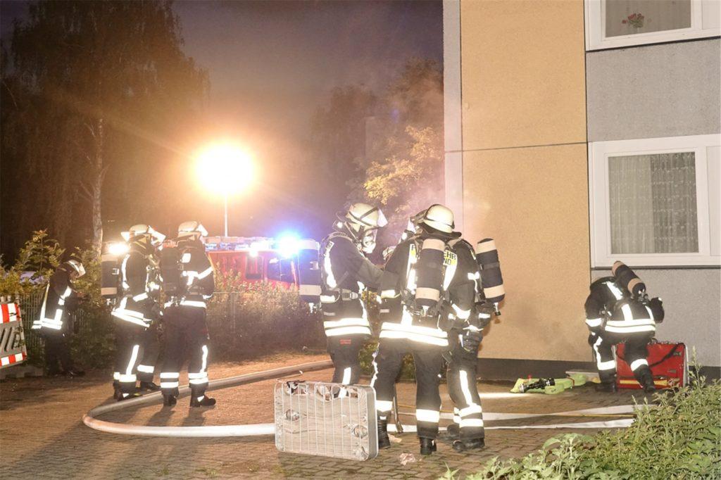 Anfang Juli brannte es in einem viergeschossigen Gebäude in der Speckestraße in Bodelschwingh.