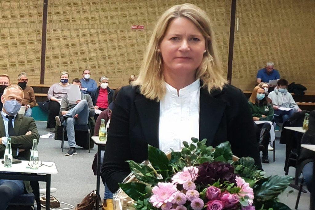 Marion Weichert (CDU) wurde als erste stellvertretende Bürgermeisterin gewählt.