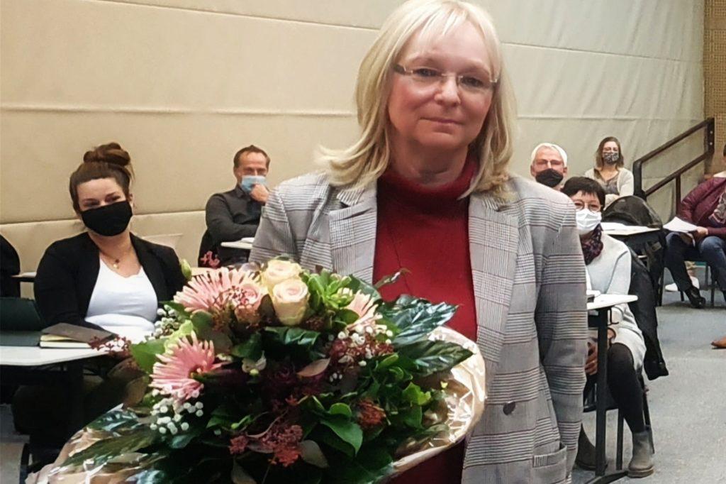 Birgit Wüsten (Dinkelbündnis) wurde als zweite stellvertretende Bürgermeisterin gewählt.