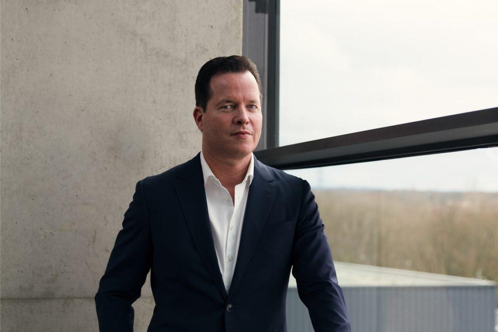 Oliver Hermes ist Vorstandsvorsitzender der Wilo Gruppe in Dortmund