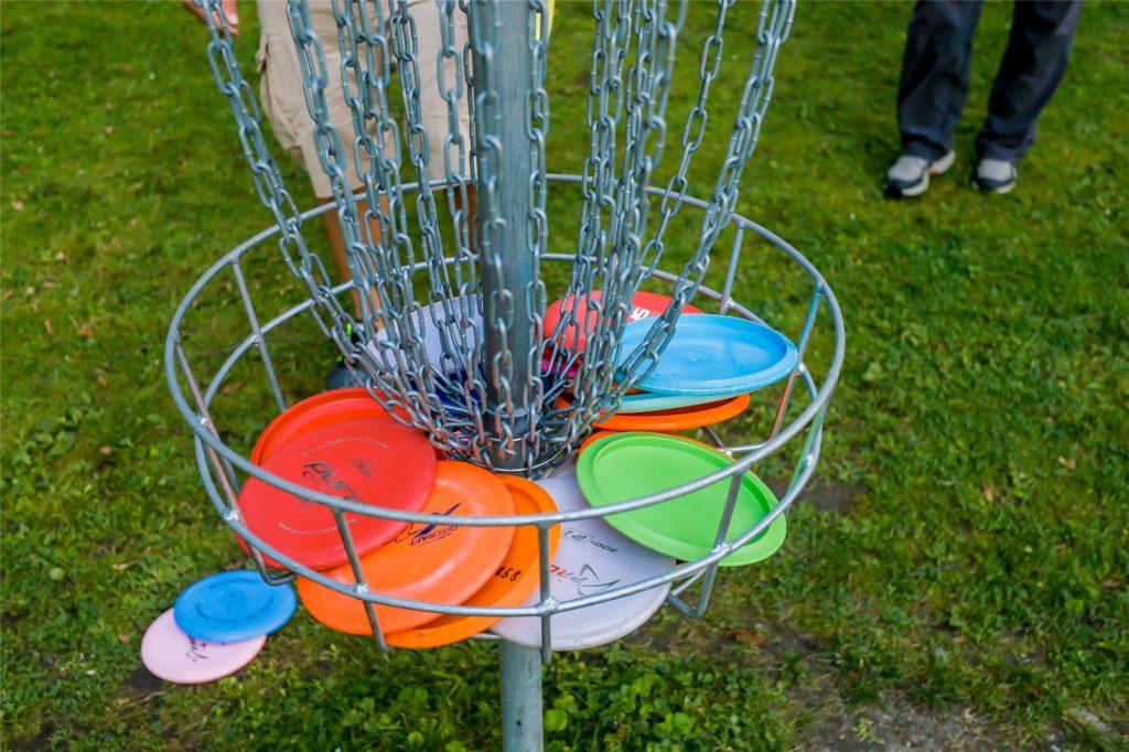 Trotz Corona-Lockdown ist Disc Golf im Revierpark Wischlingen weiterhin möglich.