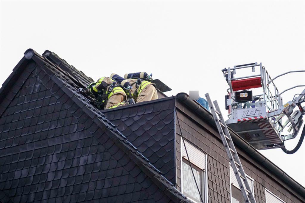 Durch das schnelle Eingreifen konnte eine Ausweitung des Brandes verhindert werden.
