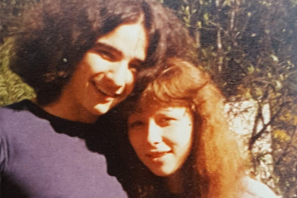 So sahen Thomas und Sigrid Böhm 1980 zum Zeitpunkt des Konzertes aus.