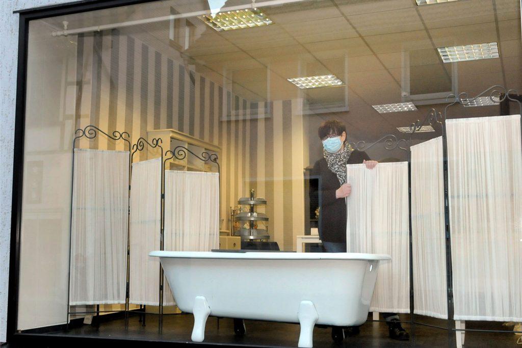 """Prunkstück im Schaufenster der """"Seifenschätze"""