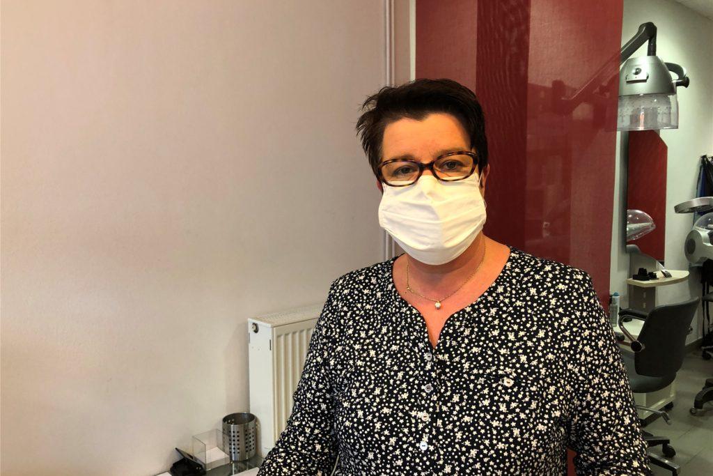 Haarstudio-Inhaberin Petra Kinne gehörte zu denjenigen, die den Rettungsdienst alarmiert haben