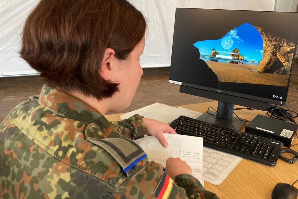 Kontaktverfolgung Bundeswehr Saalbau Bottrop