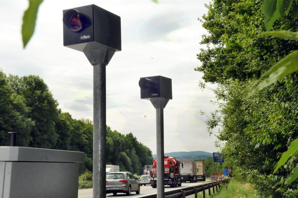 Millionen hat die Stadt Hagen mit der Blitzanlage verdient, die sie für die Dauer des Brückenneubaus an der Autobahn A45 platziert hat.