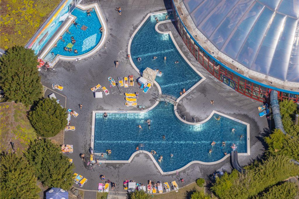 Sommer 2020 im Freizeitbad Atlantis